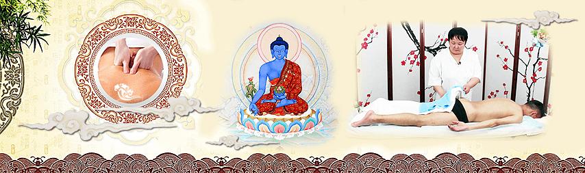 Массаж позвоночника в Тибетской медицине